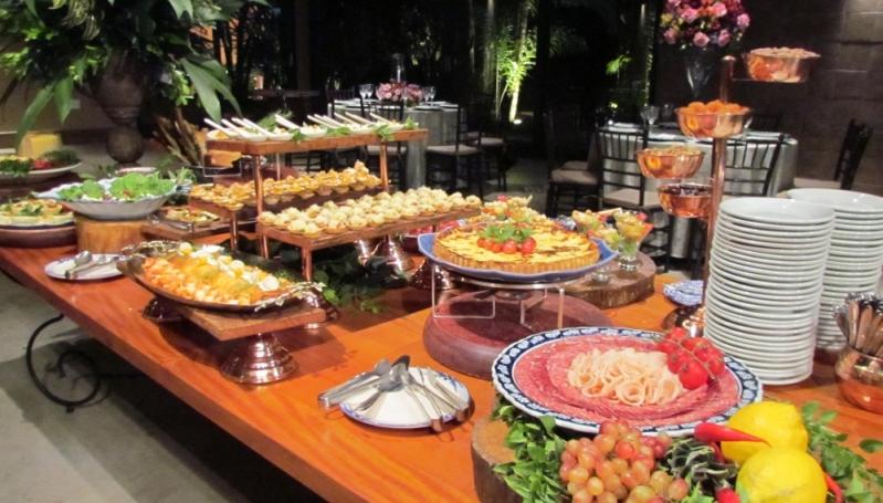 Buffet para Festa de Casamento Santa Rosa de Viterbo - Buffet de Casamento Simples