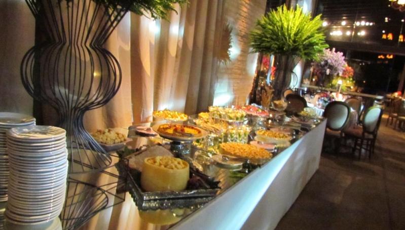 Buffet para Festa de Formatura Boulevard - Buffet de Festa de Casamento