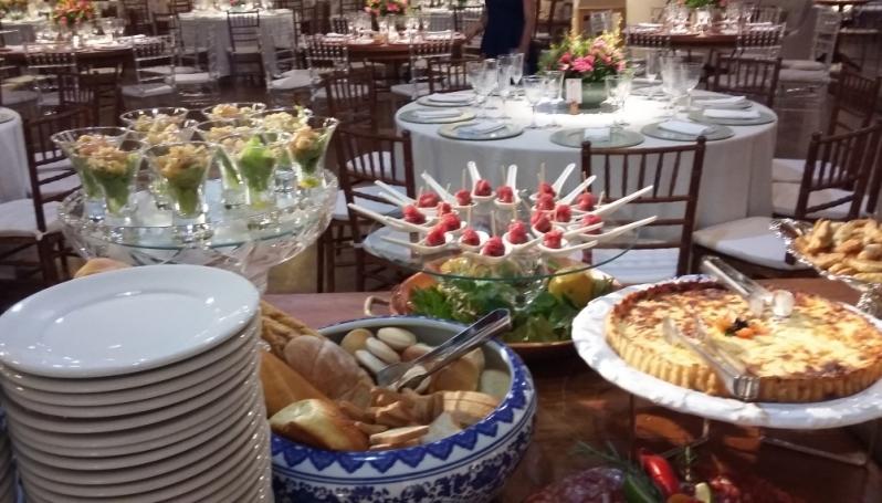Buffet para Festas e Eventos Novo Horizonte - Buffet de Eventos Corporativos
