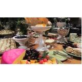 buffet completo para casamento valores Novo Horizonte