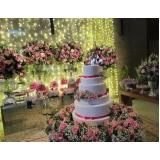 buffet para aniversário de debutantes