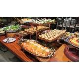 buffet para aniversário