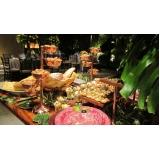 buffet para eventos corporativos
