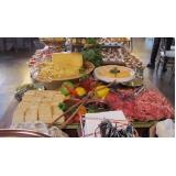 buffet de eventos corporativos preço Brodowski