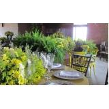 buffet de festa de casamento Serra Azul