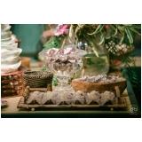 buffet para festa de debutantes