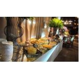 buffet para festa de formatura