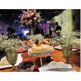 buffet para aniversário de debutantes preço Mococa