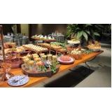 buffet para aniversário preço Bebedouro