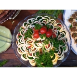 buffet para casamento simples valores Serrana