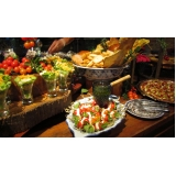 buffet para casamento simples Brodowski