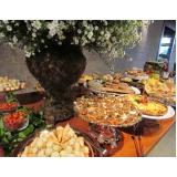 buffet de casamento com espaço próprio
