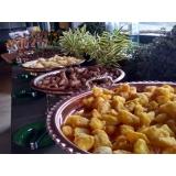 buffet para empresa Santa Rosa de Viterbo