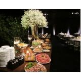 buffet para evento corporativo valores Sertãozinho