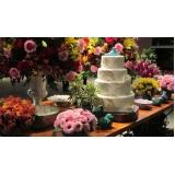 buffet para festa de casamento valores Franca