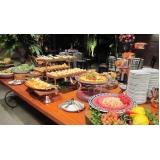 buffet para festa de casamento Jardim Irajá