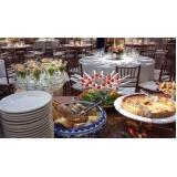 buffet para festas e eventos Jardim Irajá
