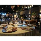 buffet simples para casamento Boulevard
