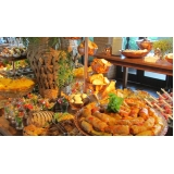 buffets de casamento simples Cajuru