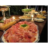buffets para evento corporativo Serrana