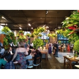 buffets para eventos empresariais Sales Oliveira
