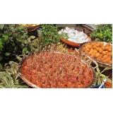 buffets para festa de casamento Pradópolis