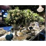 buffets simples para casamento Morro Agudo