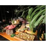 empresa de buffet de aniversário adultos Santo Antônio da Alegria