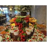 empresa de buffet de casamento com espaço próprio Mococa