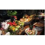 empresa de buffet para casamento simples Jardim Alvorada