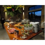 empresa de buffet para jantar de aniversário Mococa