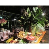 orçamento de buffet de aniversário adultos Santo Antônio da Alegria