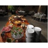 orçamento de buffet para jantar de aniversário Tambaú