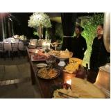 preço de buffet para evento corporativo Orlândia