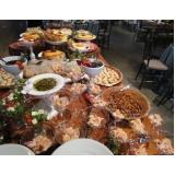 quanto custa buffet de hamburguer para festas Brodowski