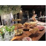 quanto custa buffet festa de aniversário Franca