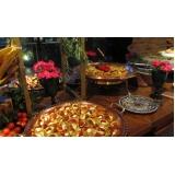 quanto custa buffet para festa de batizado Mococa