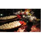 serviço de buffet para casamento simples Alto da Boa Vista